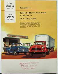 1954 Dodge Truck Models D6 1 Ton & F6 1 & A Half Ton Sales Brochure 1954 Dodge Pickup Big Bargain Junk Mail Directory Index And Plymouth Trucks Vans1954 Truck 4 Sale Farristracycoxnet For More Pictures Stake Body Canada Way Of Our Fathers Tractor Power Wagon Berlin Motors M37 Sale Near Cadillac Michigan 49601 Classics On Pickup Classiccarscom Cc1048638 12 Ton This Truck Was Equi Flickr New Jacked Up Easyposters Kotaksuratco F154 Chicago 2015 Factory Oem Shop Manuals Cd Detroit Iron