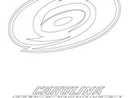 Carolina Hurricanes Logo Coloring Page Free Printable Pages Anaheim Ducks