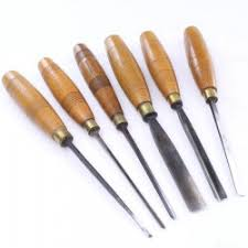 wood carving tools and chisels old tools