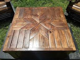 Pallet Wood Patio Chair Plans by Patio Furniture Set Made With Wooden Pallets Pallet Projects