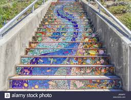 16th Avenue Tiled Steps In San Francisco by Tiled Steps Stock Photos U0026 Tiled Steps Stock Images Alamy