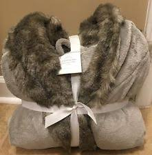 Pottery Barn Faux Fur Sleepwear & Robes for Women