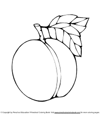 To Print Peach Coloring Pages 65 For Books With