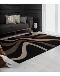 designer teppich karo grau schwarz