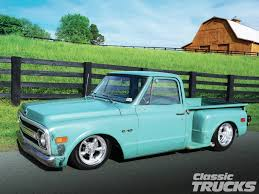 100 1970 Truck Chevy C10 Stepside A Wolf In Sheeps Clothing Classic