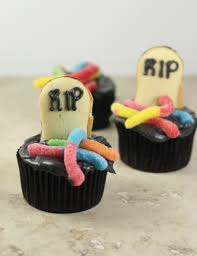 Halloween Tombstone Names by Halloween Tombstone Cupcakes Kitchenplay The Little Kitchen