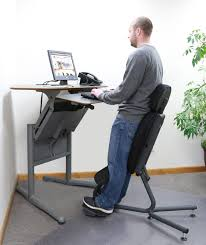 furniture standing desk and super ergonomic tall upholstered