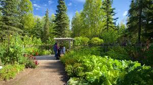 Gardens & Parks View of Alaska Botanical Garden