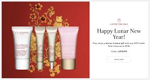CLARINS CANADA 2019 CHINESE NEW YEAR: Free Lunar New Year 4 ... Beauty Brands Free Bonus Gifts Makeup Bonuses Lookfantastic Luxury Premium Skincare Leading Pin By Eaudeluxe On Glossary Terms Best Fgrances Universe Coupons Promo Codes Deals 7 Ulta 20 Off Oct 2019 Honey Brands Annual Liter Sale September 2018 Sale Friends And Family Event Archives The Coral Dahlia Online Beauty Retailers For Makeup Skincare Petit Vour Offers With Review Up To 30 Email Critique Great Promotional Email Elabelz Coupon 56 Off Plus Up 280 Shopcoins Uae Nykaa 70 Off 1011