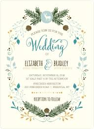 Woodland Rustic Frame Wedding Invitation By WeddingPaperie