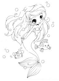 Little Mermaid Ariel Coloring Pages The Disney Princess Pictures Full Size