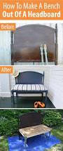 Queen Bed Rails For Headboard And Footboard by Best 20 Refurbished Headboard Ideas On Pinterest Old Benches