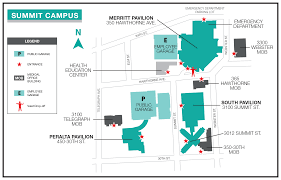 Summit Campus Map and Directions