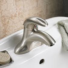 Williamsburg Pedestal Sink Home Depot by Reliant 3 1 Handle 4 Inch Centerset Bathroom Faucet 0 5 Gpm