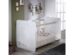 chambre évolutive bébé conforama lit bébé 60x120 cm jungle coloris blanc décor jungle vente de