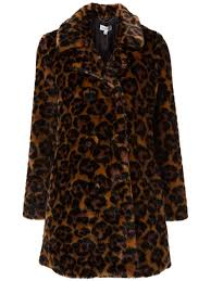 coach faux fur u0027wild beast u0027 coat women clothing 11529309