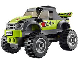 Amazon.com: LEGO City Great Vehicles 60055 Monster Truck: Toys & Games