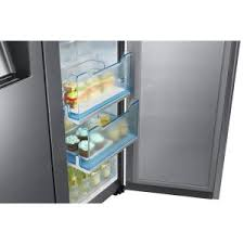 samsung 21 5 cu ft side by side refrigerator in stainless steel
