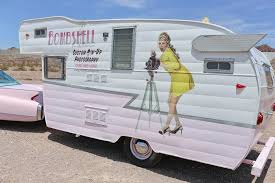 1961 Shasta Mobile Salon Business Camper For Sale