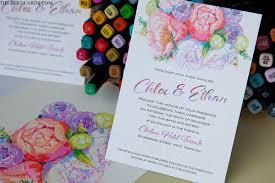 Floral Classic Wedding Invitation