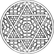 Download Coloring Pages Printable Mandala Free Mandalas For Adults Difficult
