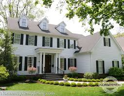 100 Beautiful White Houses Dormers On Normandy Remodeling