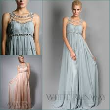 2015 jennifer lopez chiffon beach bridesmaid dresses scoop empire