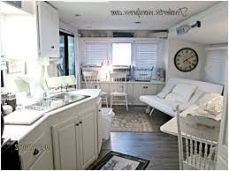 Small Travel Trailer With Outdoor Kitchen Modern Looks Mobile Home Decorating Beach Style Makeover