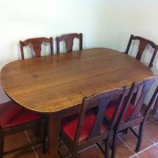 Silky Oak Dining Table Chairs