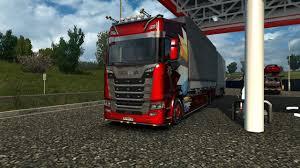 ETS2 V1.30.2.6 Fr - BDF Tandem Truck Mods Avec Le Scania S Hight ...