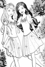 Best Barbie Coloring Page 86