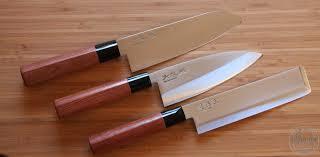 couteau de cuisine professionnel japonais couteaux nakiri santoku deba seki magoroku redwood la coutellerie