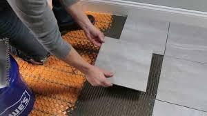 schluter ditra heat for floors