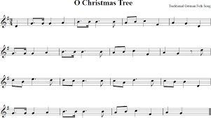 About The Music Titles O Christmas Tree