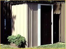 Arrow Shed Assembly Tips by Assemble An Arrow Brand Brentwood Metal Shed Part I 4 Steps