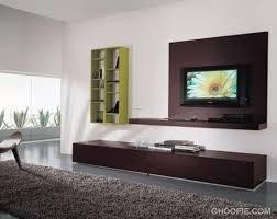 Spacious Living Room With Tv Wall Mount Ideas Modern Mahogany Decor