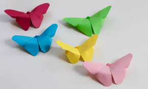 How To Make Origami Paper Crafts New Easy Craft Butterflies