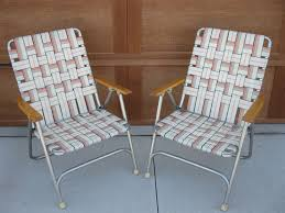Vintage ( Set Of 2) Lawn Chairs-1960s - Webbed Chair ... Lawn Chair Webbing Replacement Nylon Material Repair Kits For Plastic Alinum Folding Chairs Usa High Back Beach Old Glory With White Arms Telescope Outdoor Fniture Parts Making Quality Webbed Pnic Charleston Green I See Your Webbed Lawn Chair And Raise You A Vinyl Tube Vtg Red Blue Child Kid Patio The Home Depot Weave Seats With Paracord 8 Steps Pictures Cane Cheap Garden Recliner Chama Allterrain Swivel