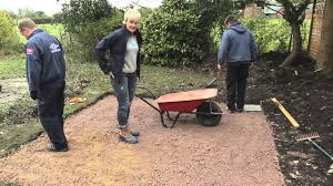 Cheap Shed Base Ideas by Diy How To Lay Paving Slabs Patio With Philippa Tuttiett