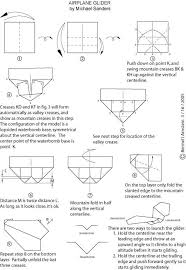 Origami Jet Instructions Paper Airplane