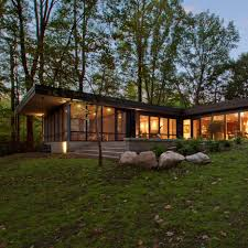 100 Mid Century House Haus Overhauls Midcentury Modern Home In The Indiana Woods