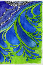 Wave From Be Inspired Volume 2 Mini Adult Coloring Book For Stress Relief By Ronni Brown
