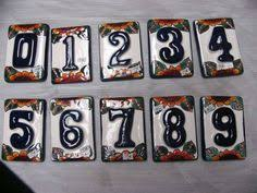 Mexican Tile House Numbers With Frame by Image Result For Talavera Mission Tile House Numbers House