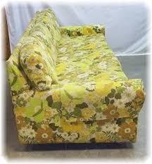 Danish Modern Sofa Ebay by Kroehler Citation Mid Century Sofa Retro Floral Couch Davenport