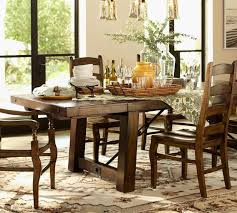 Pottery Barn Dining Table Decor