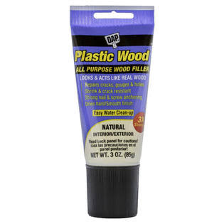 DAP Plastic Wood Latex Carpenter's Wood Filler - Natural, 3oz