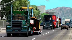 100 Best American Truck ATS Mods MACK Superliner Simulator YouTube