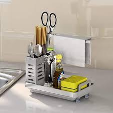 byoauo spülbecken organizer küchen organizer fur aufbewahrung küche 304 edelstahl küchen zubehör 11