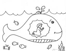 Jonah Printable Coloring Pages Extra Page 223069