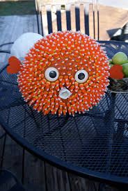 Ninja Turtle Pumpkin Designs by A Puffer Fish Pumpkin That I Made Diy Crafts Pinterest
